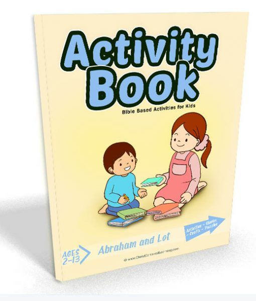 Abraham and Lot: Activity Book - Christ Centered Learning