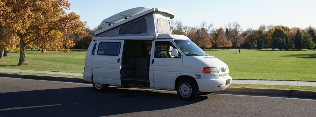 Rocky Mountain camper van rental. Eurovans rentals and