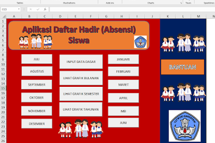 Aplikasi Gratis Daftar Hadir Absensi Siswa Aplikasi Guru