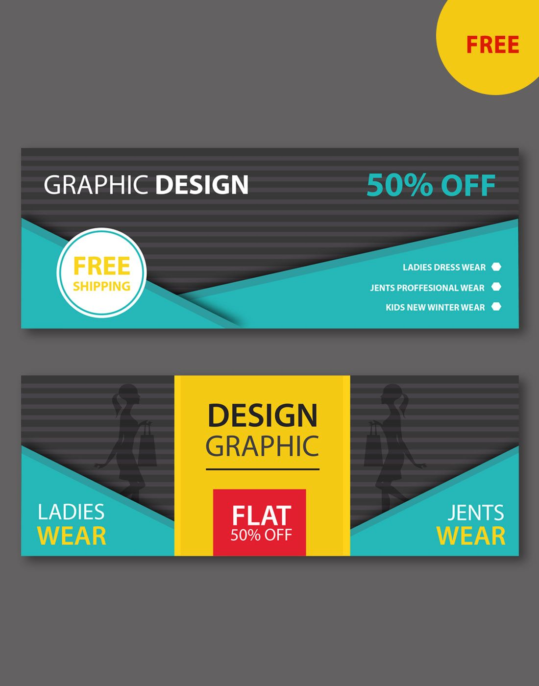 Ecommerce Web Banner Templates Free Website Psd Banners Web