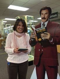 Enter to win a copy of Ron Burgundy's book! Come in to Central Library between 12-23-13 and 12-31-13 to enter. Drawing will be held at 4:30 on 12-31-13, and you don't need to be present to win. While you're at it, let us take your pic with Ron and we'll post it to our social media sites!