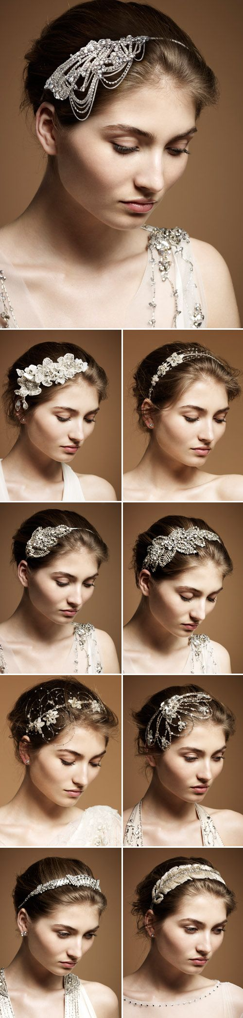jenny packham spring-summer 2012 wedding dress/accessories