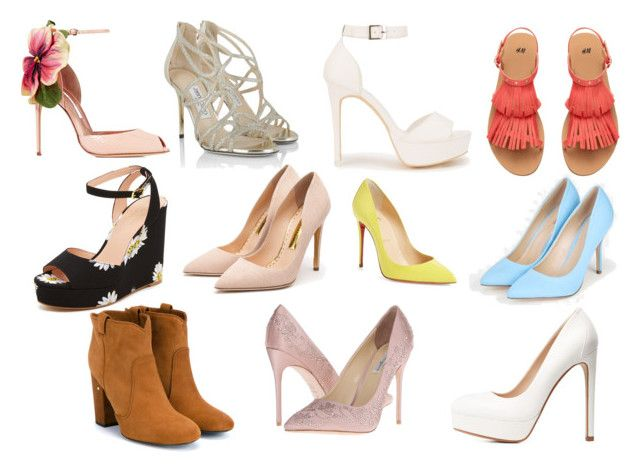 """""""shoes"""" by gyambrek on Polyvore featuring Brian Atwood, Kate Spade, Rupert Sanderson, Jimmy Choo, JustFab, Nly Shoes, Christian Louboutin, Charlotte Russe, Laurence Dacade and Benjamin Adams"""