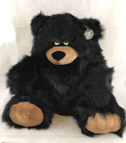 Vintage Chrisha Creation Limited Playful Plush Extra Large Black