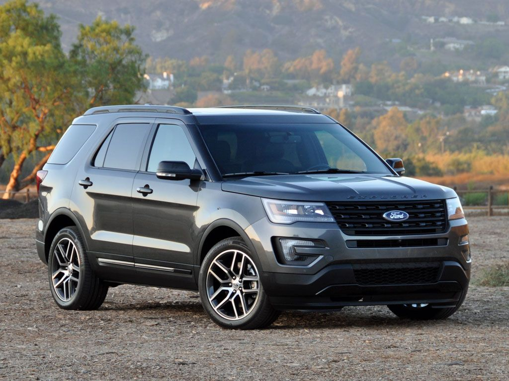 2016 Ford Explorer Sport 4WD 4x4 Ford explorer, Ford