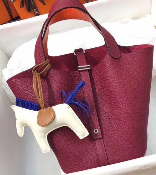 aca509b3ee Hermes Rouge   Orange Picotin Lock 18 Togo Leather Bag - Bella Vita Moda # hermes #hermesbag #hermespicotin #hermespicotin18 #hermeslover  #hermesaddict ...