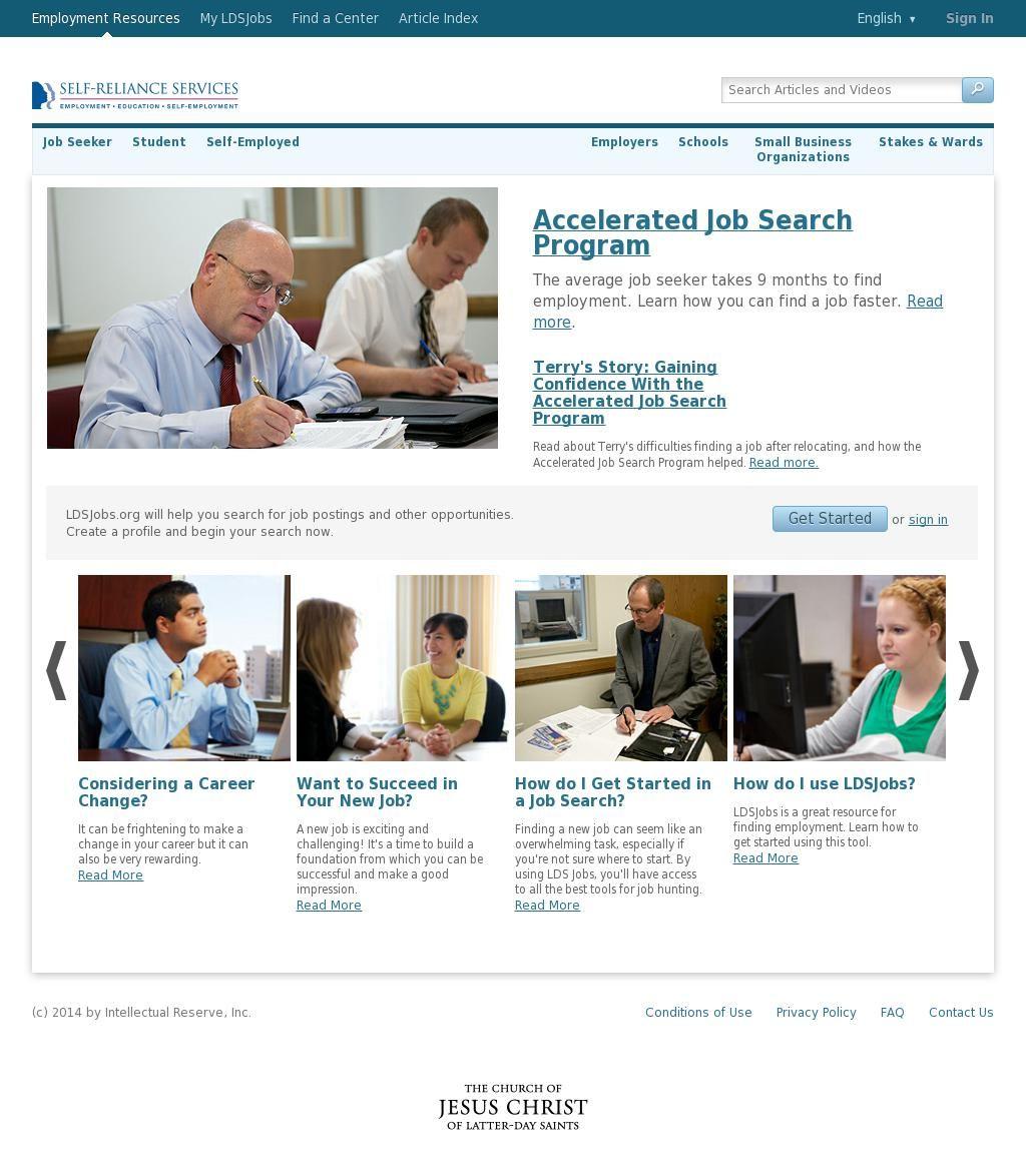 The Website Ldsjobs Https Www Ldsjobs Org Ers Ct Lang Eng Courtesy Of Pinstamatic Http Pinstamatic Com Employment Service Find A Job Employmen