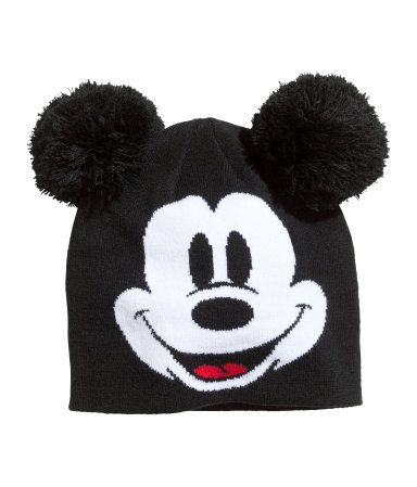 d9f7ef8cbee4d Mickey Mouse Knitted Ear Hat - H M Knitted hat  12.95