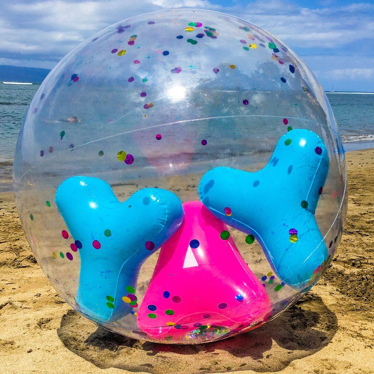 Giant YAY Confetti Beach Ball #ball, #beach, #fun, #giant | Happy ...