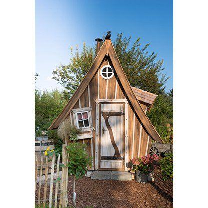 Holz Gartenhaus Lieblingsplatz Komplett Set B X T 200 Cm X 250 Cm Kaufen Bei Obi Haus Hexenhaus Ungewohnliche Hauser