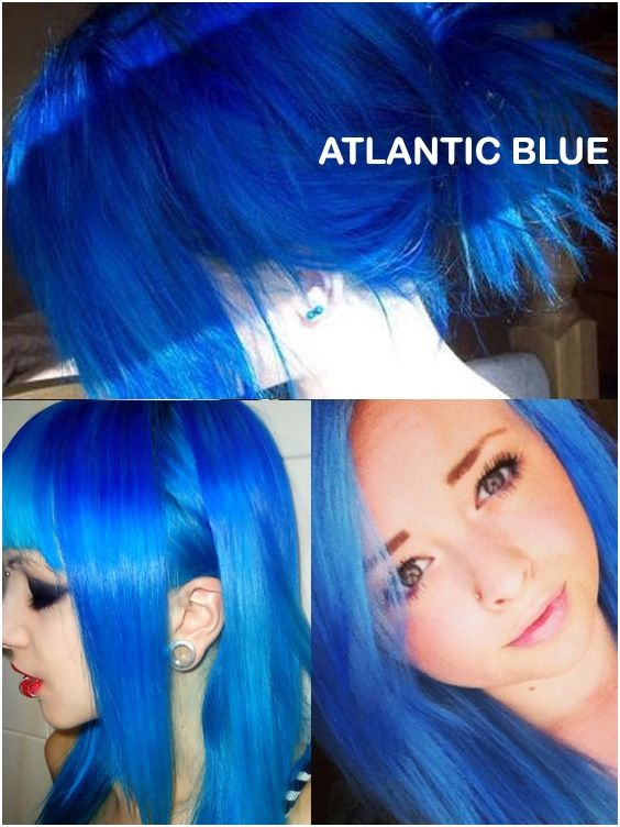 Coloring Hair Balsam Atlantic Blue In 2020 Gothic Hairstyles