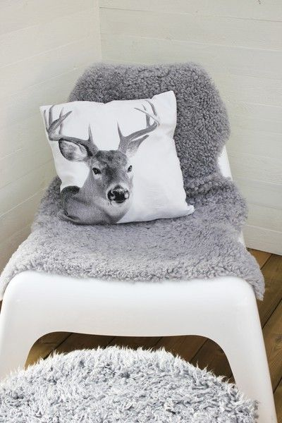 Plastic Stoelen Ikea Add Faux Fur Over A Plastic Chair--very Cool! | Diy Chair