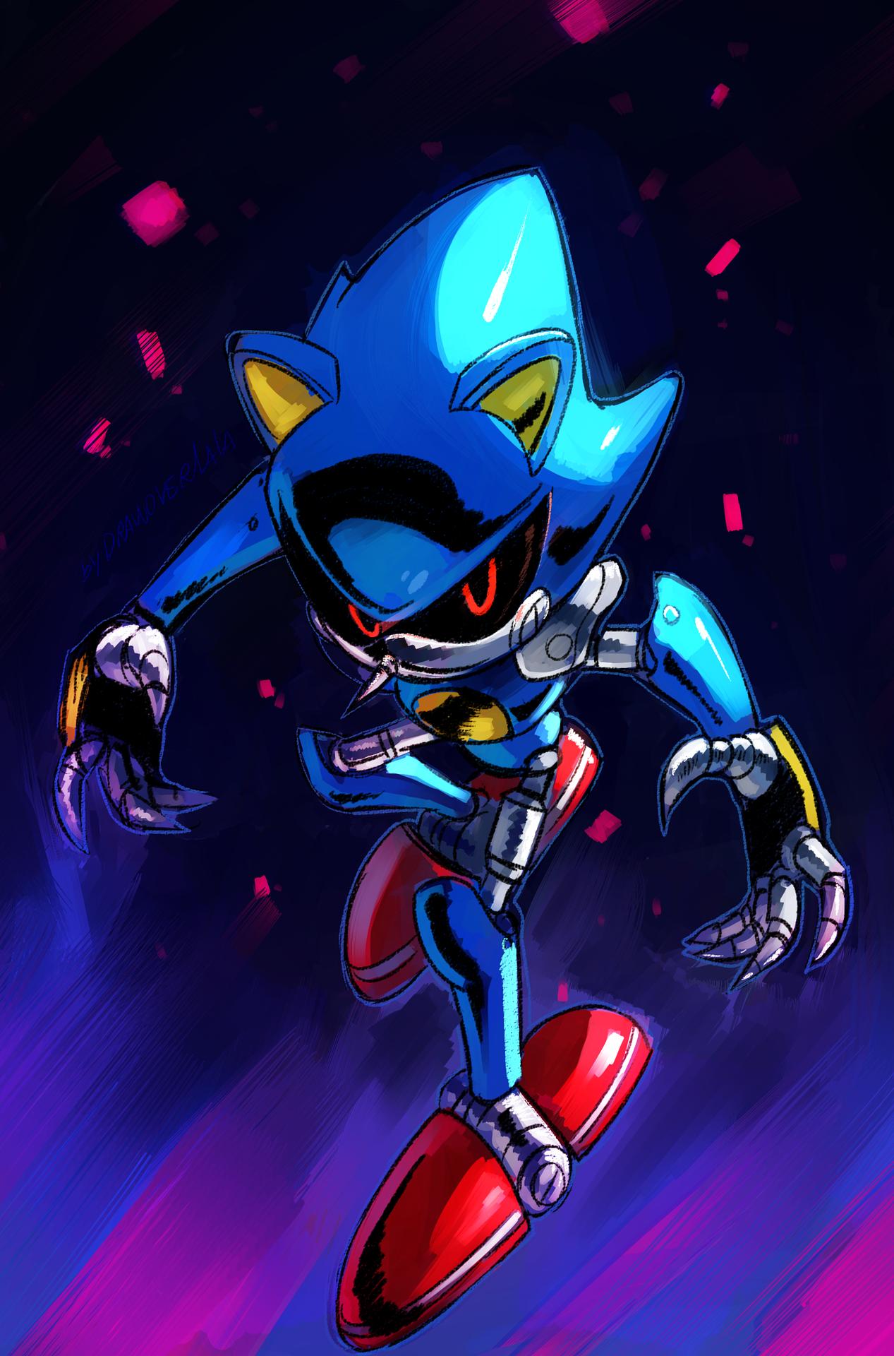 Metal By Drawloverlala Hedgehog Art Sonic Sonic Fan Art