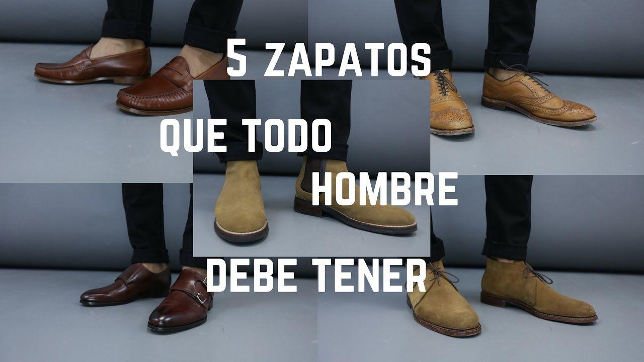0e51f7d1f1f 5 Zapatos Que Todo Hombre Debe de Tener - YouTube