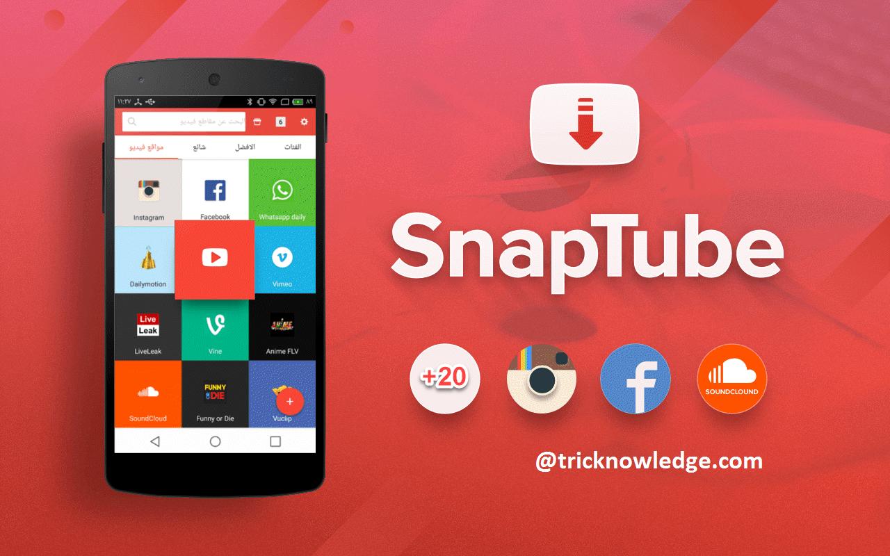 Snaptube pro apk youtube HD video downloader dbdc2f9017c
