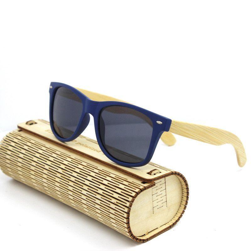 5501a974a6 polarized WOODEN Sunglasses Men bamboo Sun glasses Women Brand Designer  Original Wood Glasses Oculos de sol