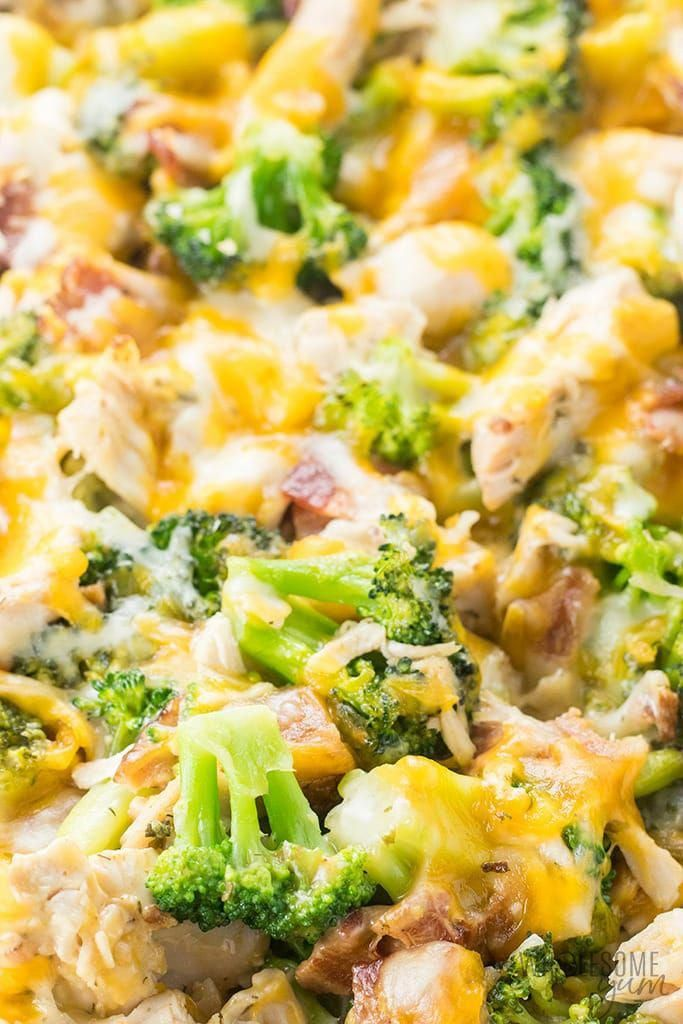 chicken bacon ranch casserole recipe quick  easy  a