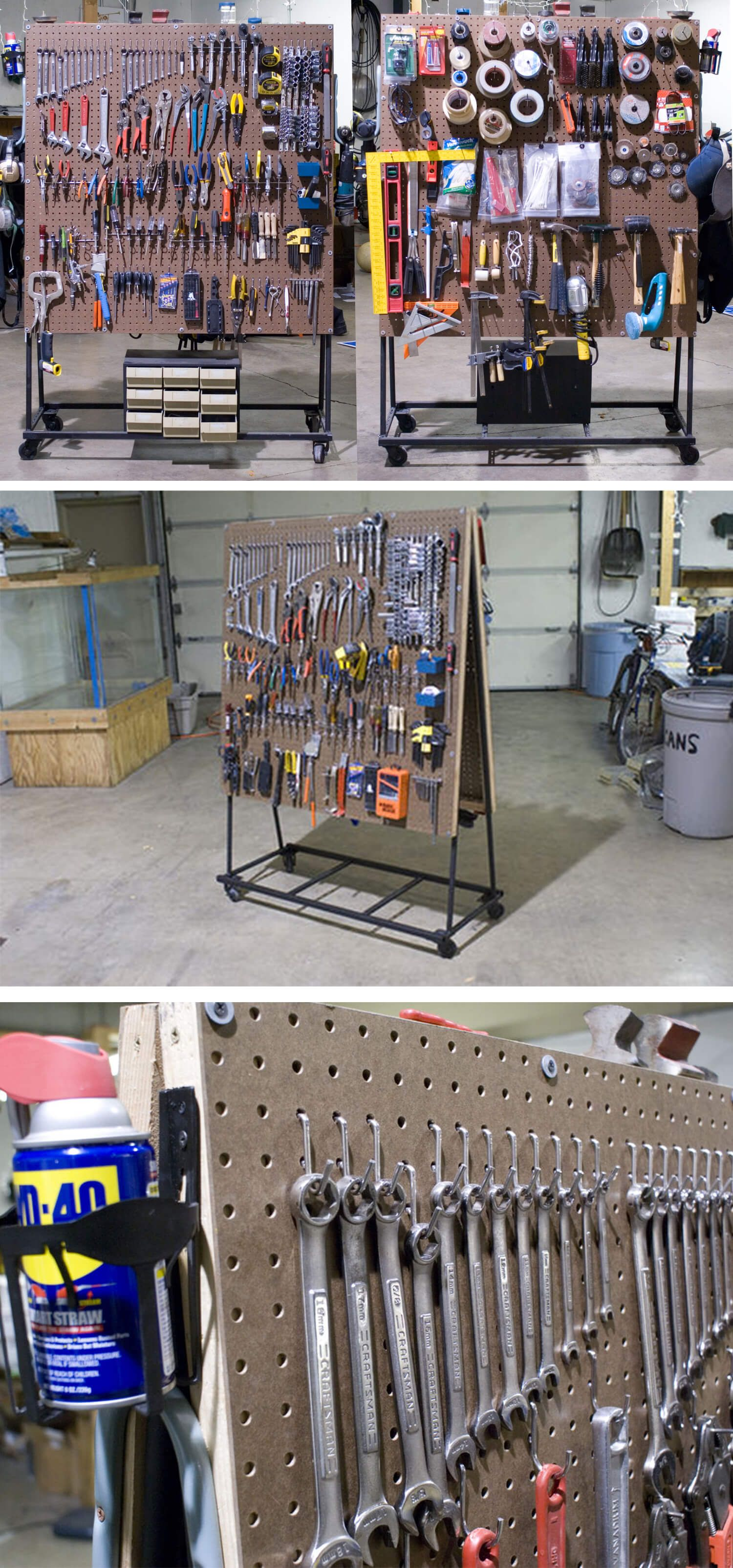 34 smart garage organization projects and ideas to get on cheap diy garage organization ideas to inspire you tips for clearing id=44650