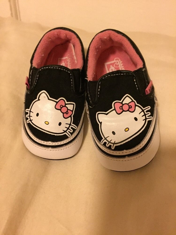 vans hello kitty baby girls shoes size 1 crib shoes adorable infant canvas  shoe from  3.25 ead9442c9