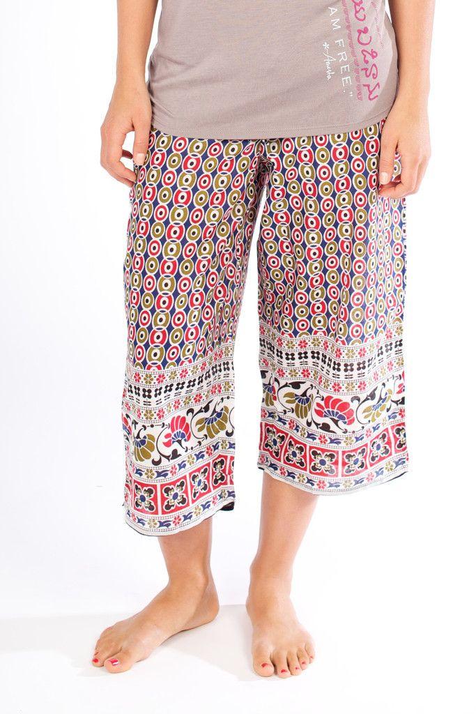 LEELA Capri Pujammies End human trafficking in your pajamas