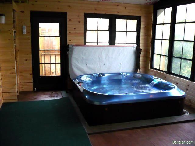 3 Season Room W Hot Tub Hot Tub Room Three Season Room 3 Season Room