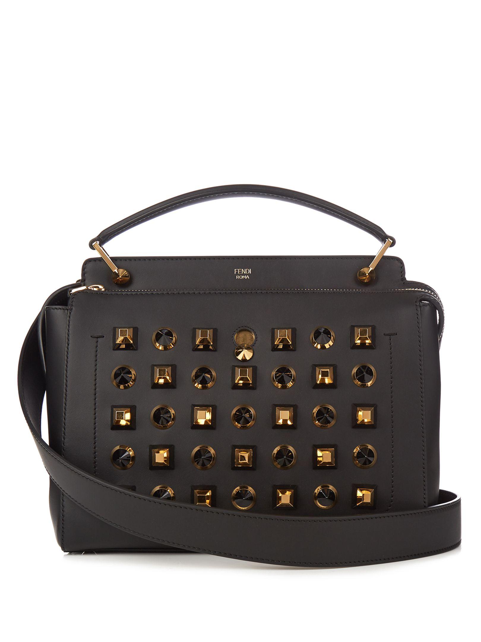 a40f0d0fcafd Dotcom embellished leather bag