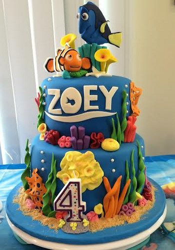 Finding Dory Themed Cake by Marra Foronda Let Them Eat Cake