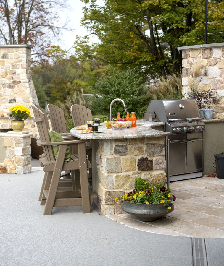 Outdoor Kitchen Ideas on a Budget (Affordable, Small, and ...