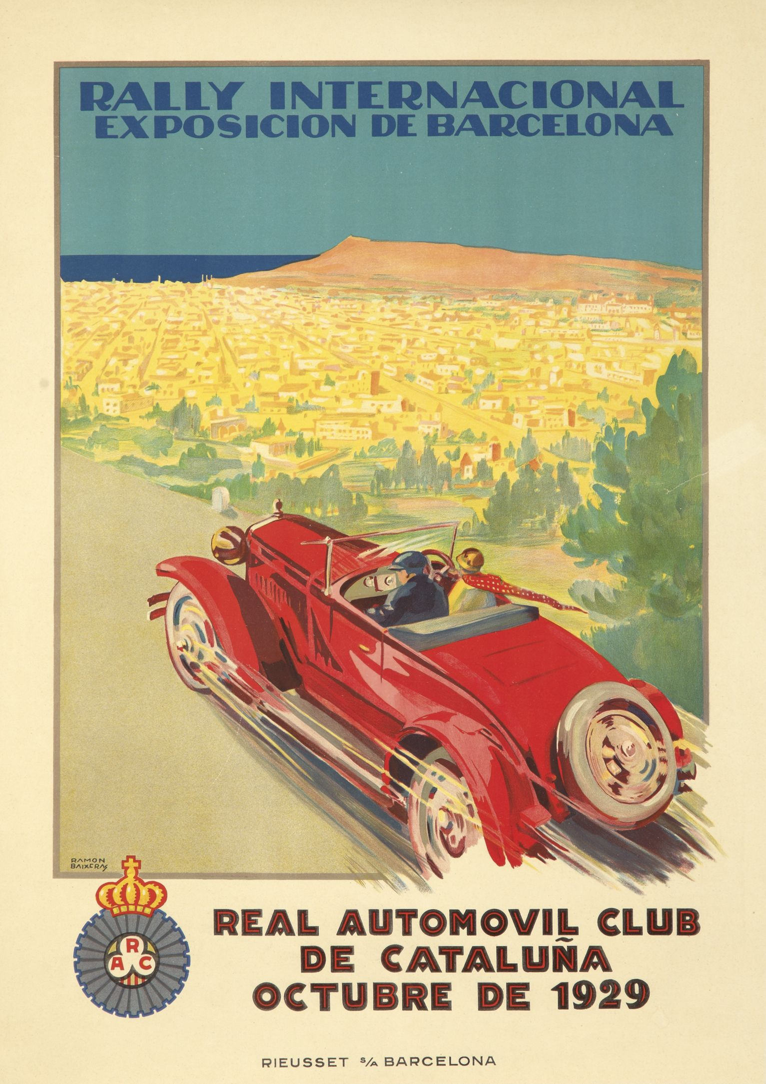Original vintage poster for sale in our May 4 auction  www