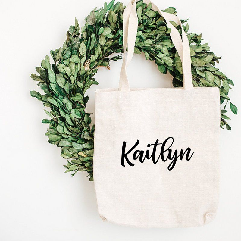 Cat Tote Natural Cotton wedding tote  FREE SHIPPING Tote Bag Beach Bag bridesmaid tote Personalized Tote Shopping Bag
