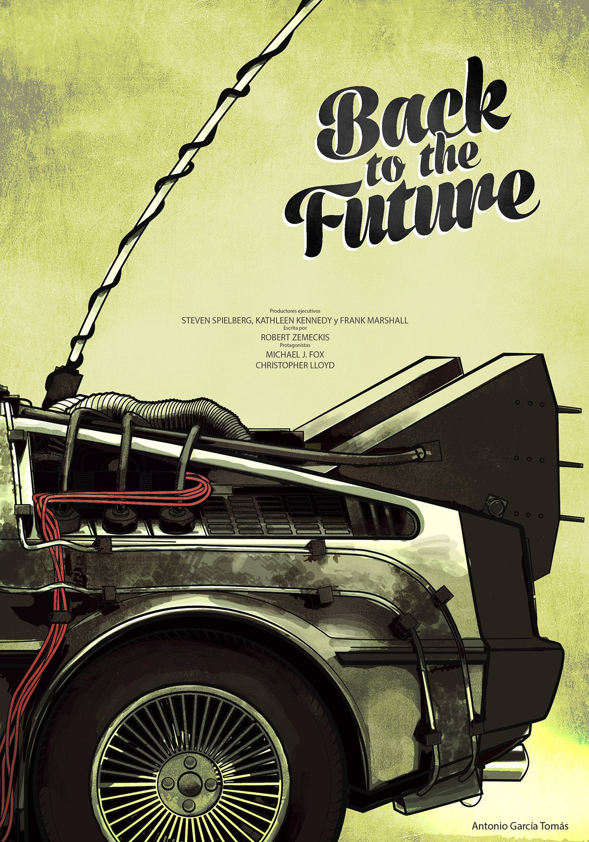 Back to the future on behance with images back to the