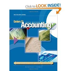No Different Accounting Textual Content Takes You Additional Or Gives You More With Century 21 Accounting Multicolumn Journal 9e Y