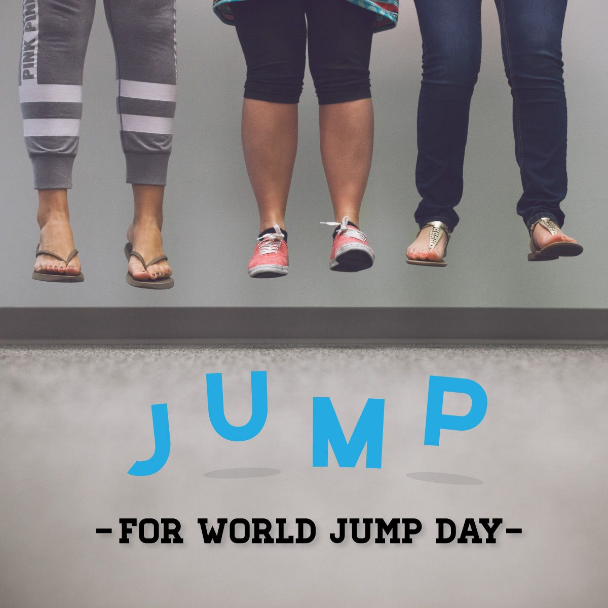 JULY 20 is World Jump Day! The first World Jump Day in 2006 was a (joking) attempt to get enough people to jump at the same time to change the Earth's orbit.