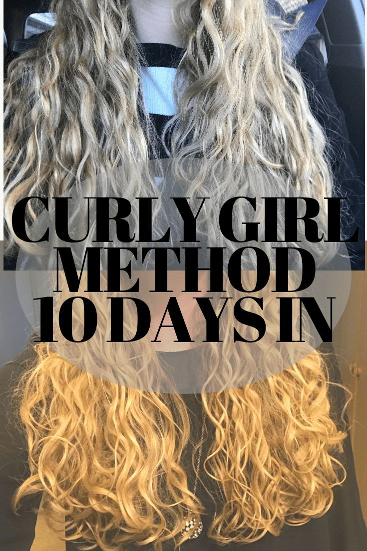 curly girl method Curly girl method, Curly hair styles