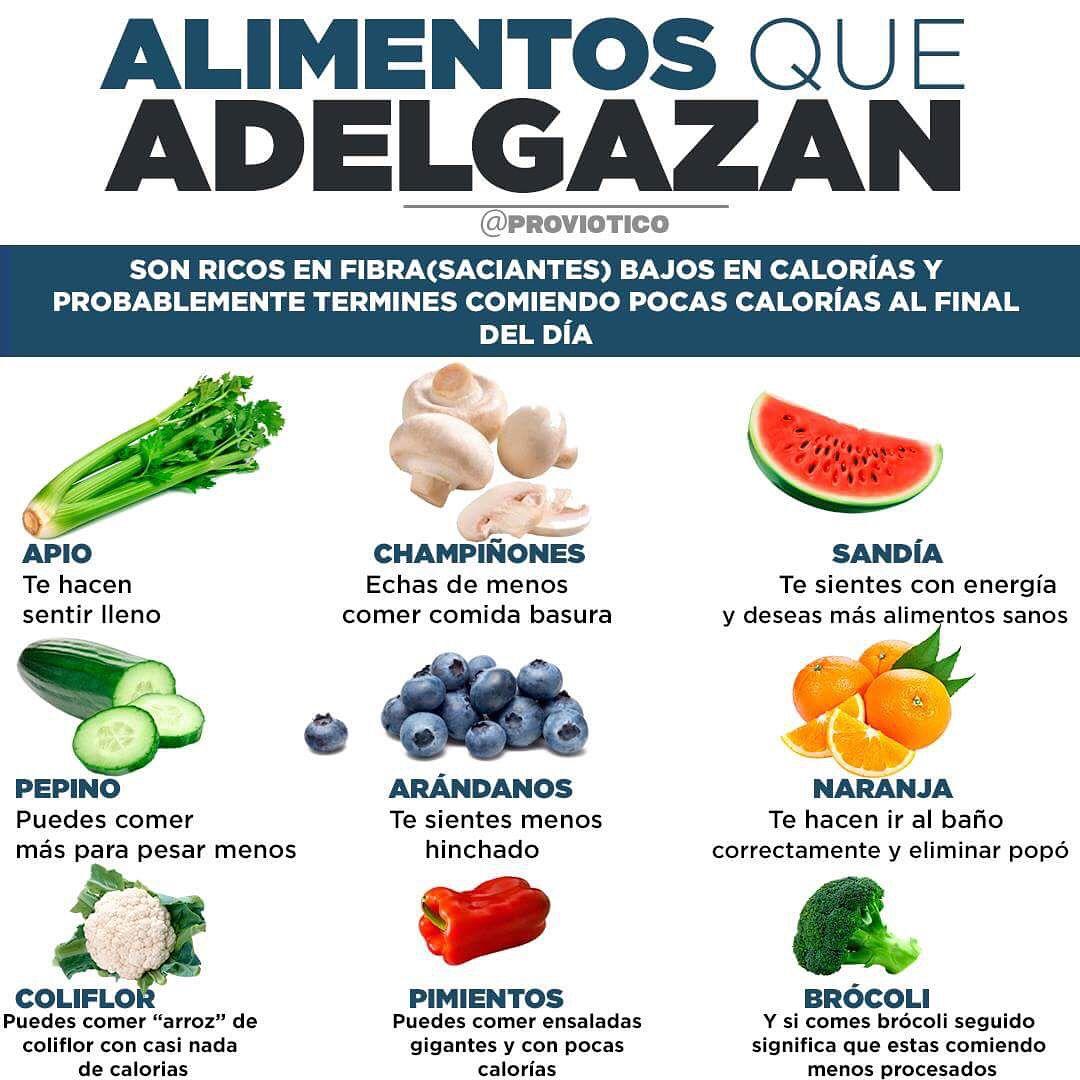 recetas para bajar de peso de comida