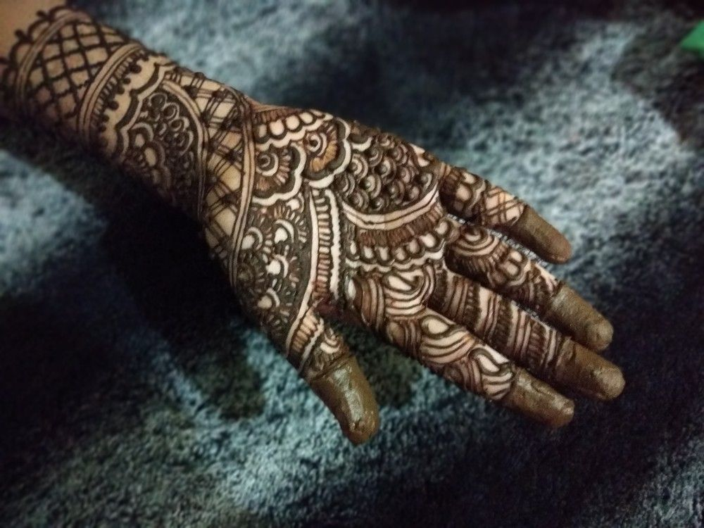 Mehndi Tutorial On This Beautiful Yet Easy Mehndi Design