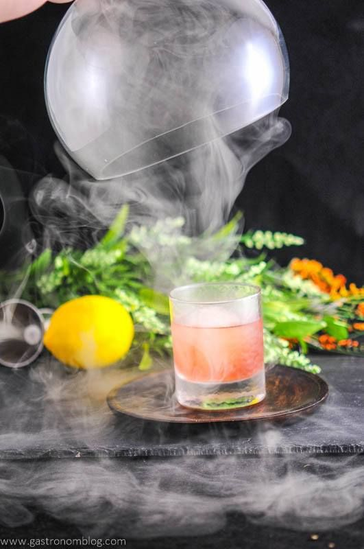 Image result for 'Smoke themed' Cocktail Menu