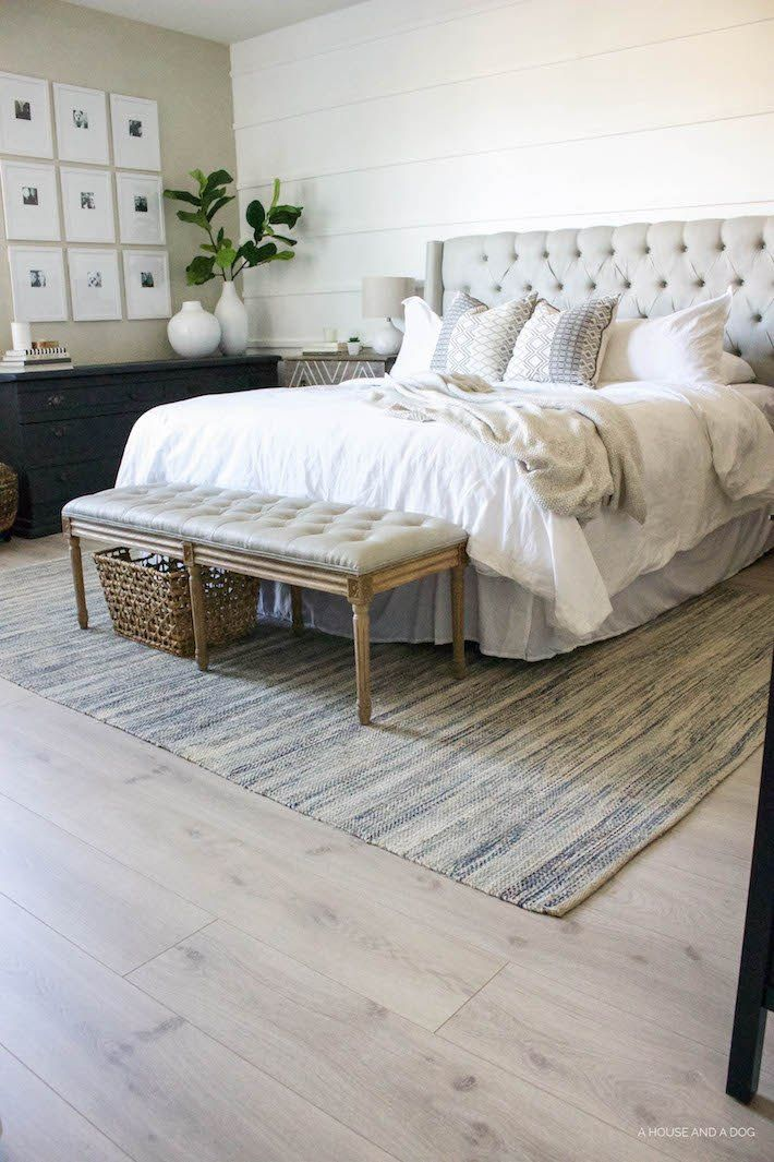 Pergo Flooring Our New Modern Oak Floors Ahouseandadog Com Bedroom Flooring Modern Farmhouse Bedroom Master Bedrooms Decor