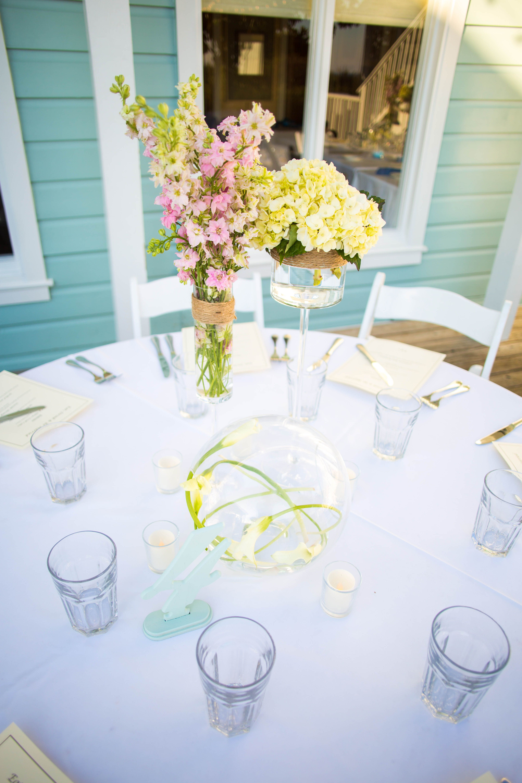 Unique wedding centerpieces - Seaside, FL- Fisher\'s Flowers - Bud ...