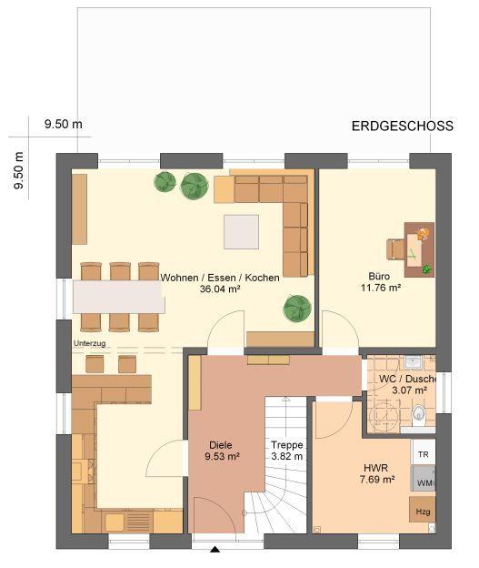 Grundriss | Haus | Pinterest
