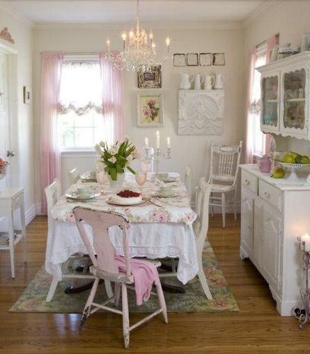 Shabby Chic ♥ dining room