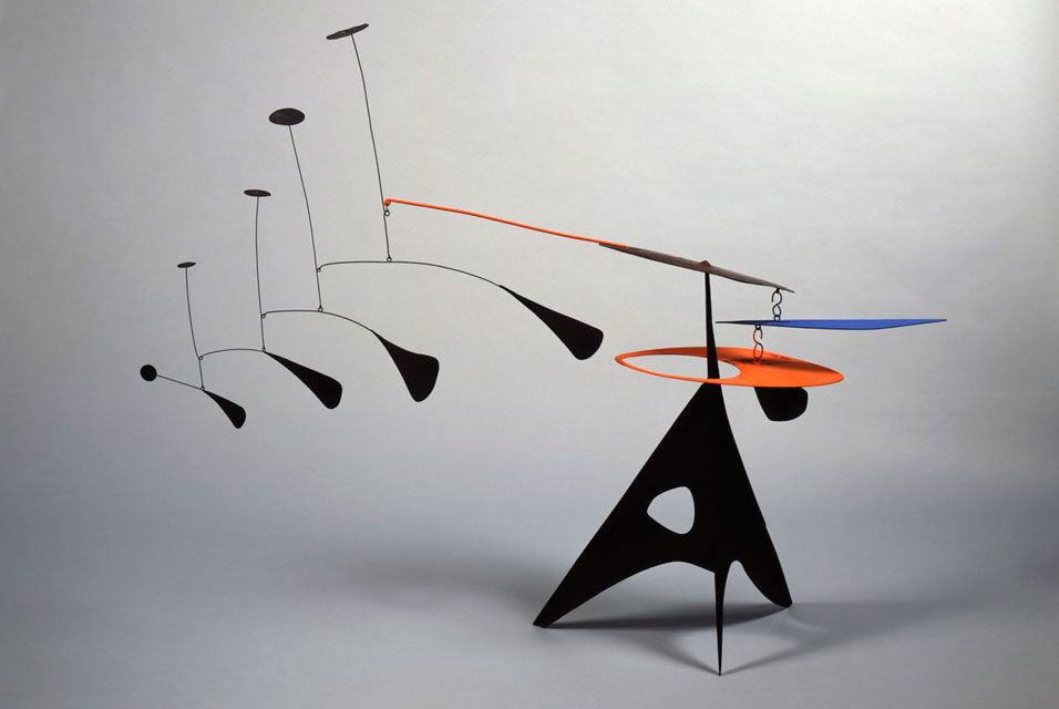 Comprehensive exhibition of nearly fifty works of art by Alexander Calder opens at Pace London