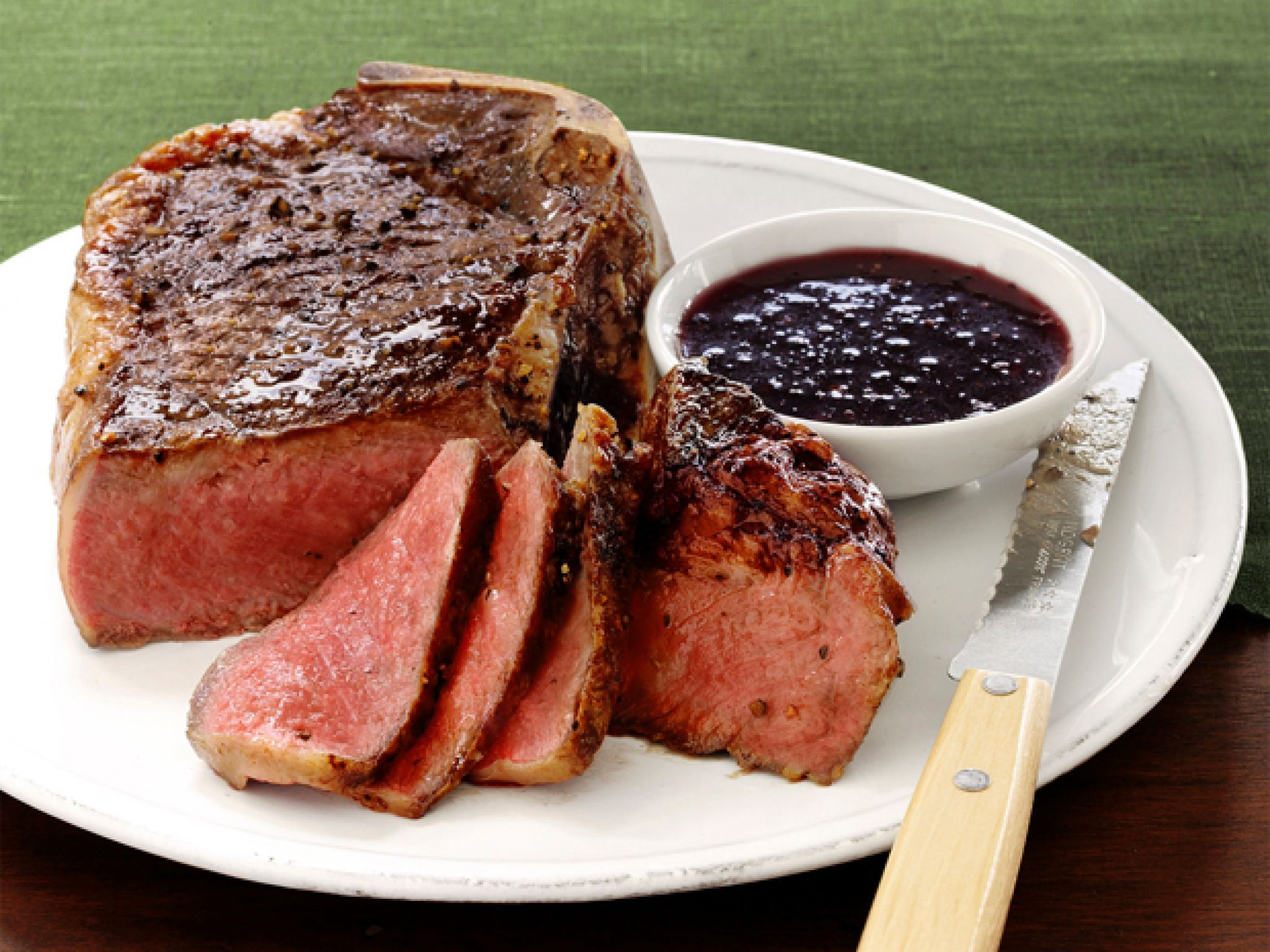 Steak with red wine shallot sauce recipe red wines steak and get this all star easy to follow steak with red wine forumfinder Image collections