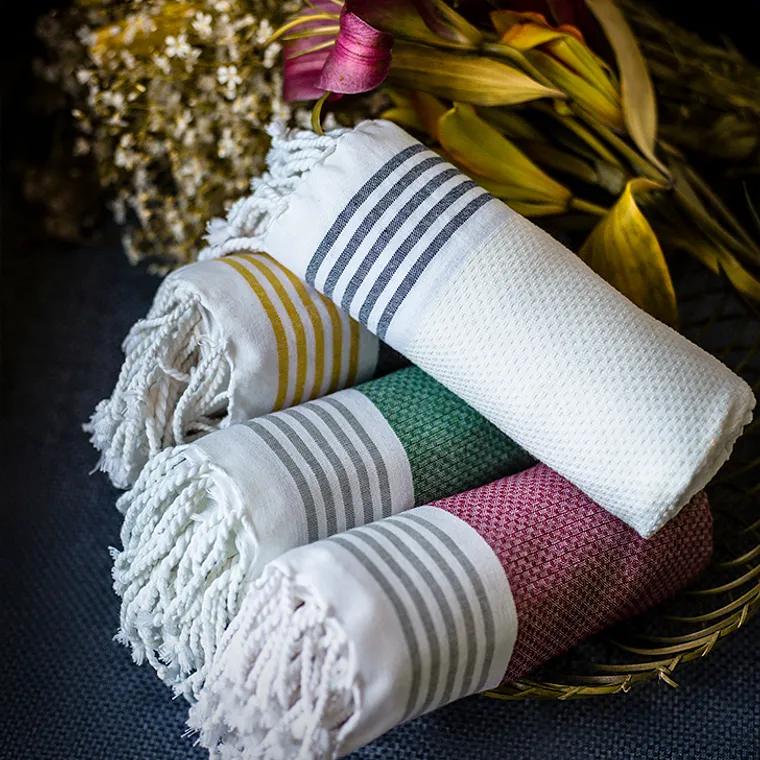 Buy A Soft Touch Haber Living Cotton Bath Towels For A Refreshing