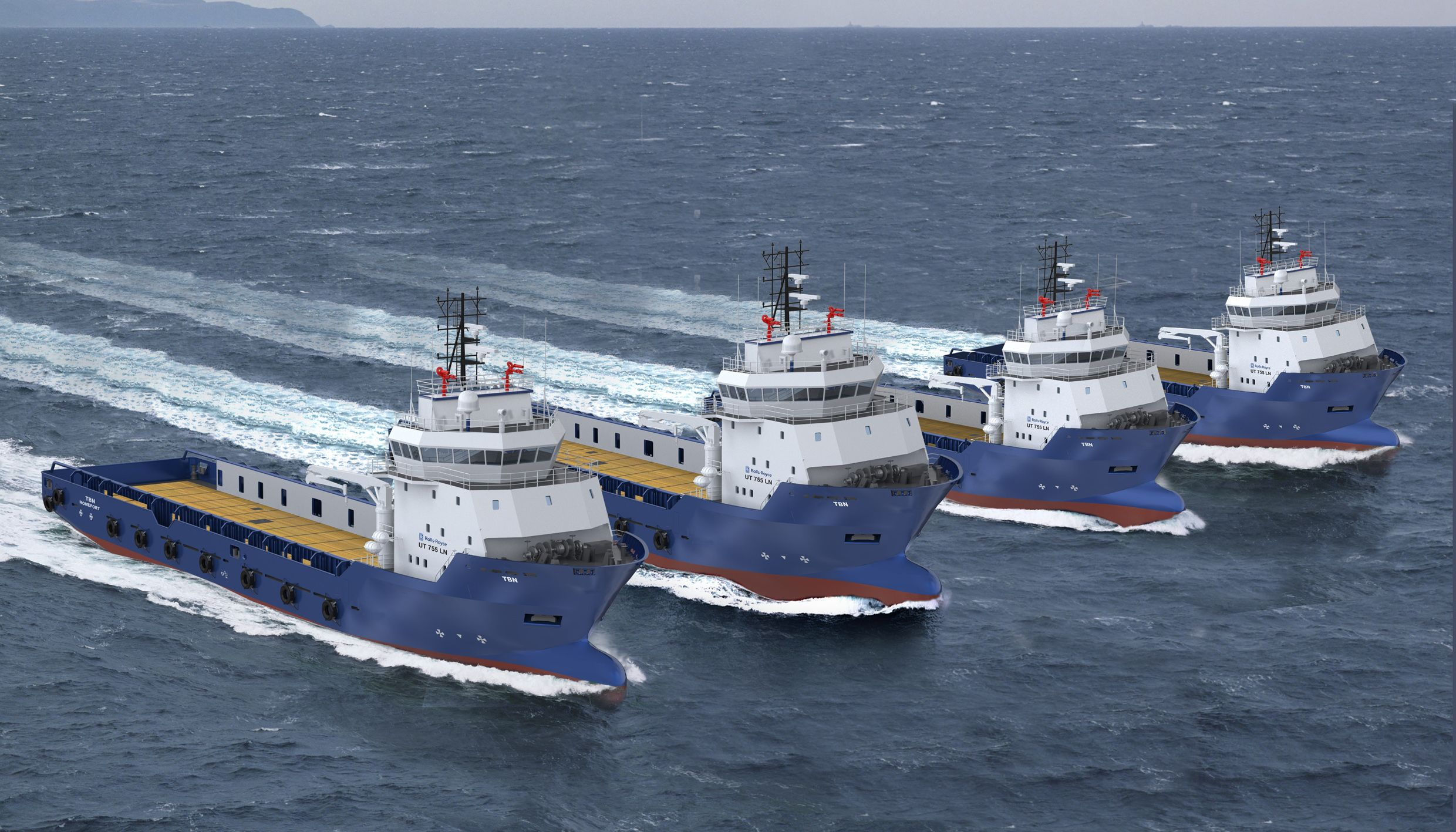 Rolls-Royce to design and power new Chinese Offshore Supply Vessels