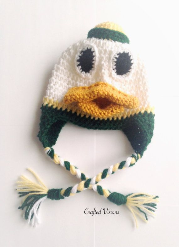c2a5115ba PATTERN Crochet Duck Hat Pattern All Sizes by CraftedVisions ...