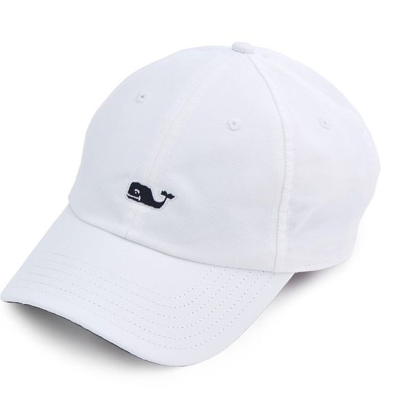 Vineyard Vines Baseball Hat White and Navy Only worn once or twice but not my style anymore Vineyard Vines Accessories Hats