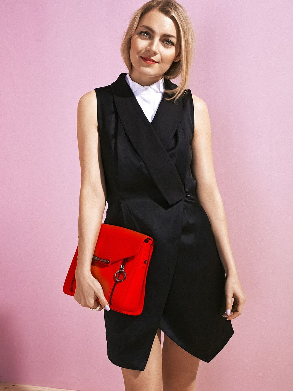 Vest dress | Trendi Magazine April 2015, Photo: Sebastian Johansson, Style: Suvi Poutiainen, Model: Jenni Rotonen | Pupulandia