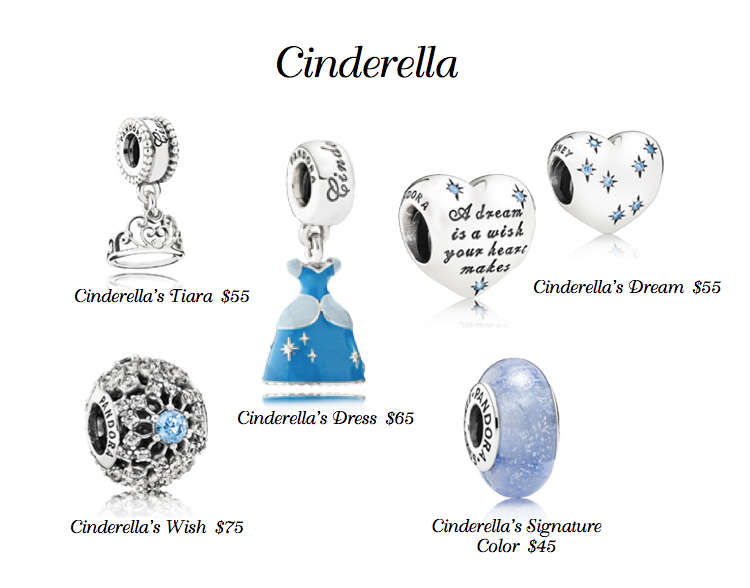ab658c70e Cinderella Disney PANDORA charms! | Magic of Disney | Pandora charms ...