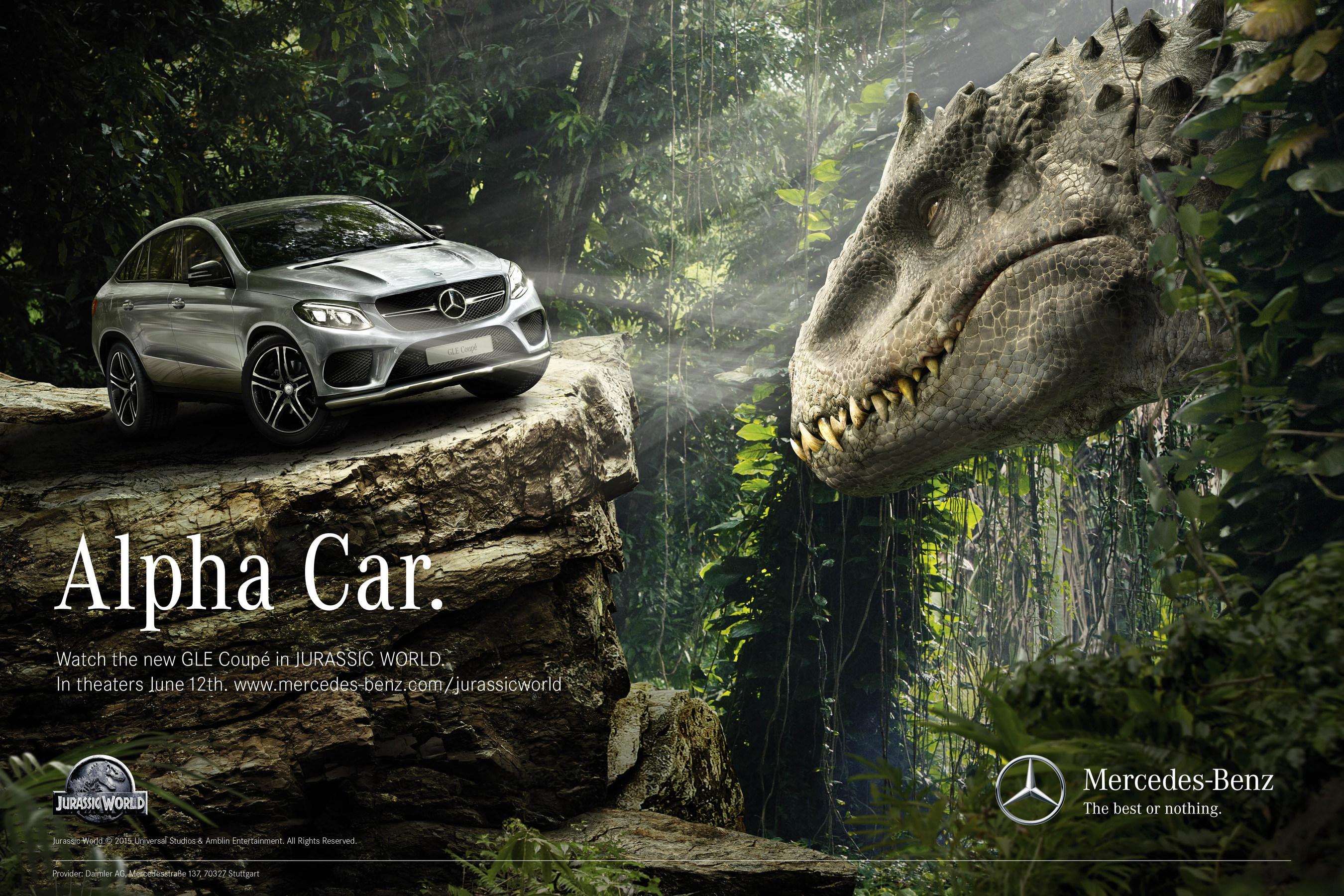 Content We Love Mercedes Benz Returns to Jurassic Park